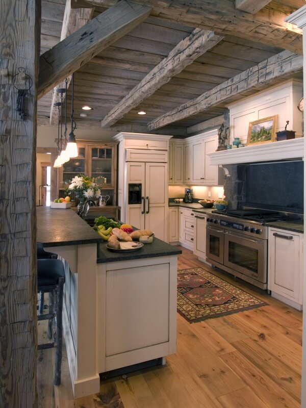 ... Pleased With Our Efforts In This Mountain Home That We Designed From  Beginning To End. One Of Our Favorite Aspects Of Their Home Is The Custom  Kitchen.