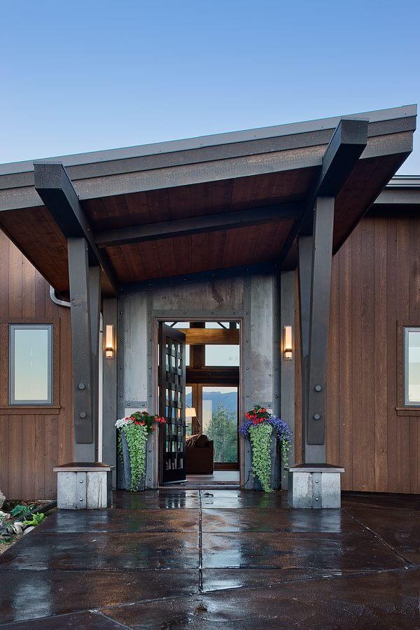 Contemporary Ranch House Kibler Amp Kirch