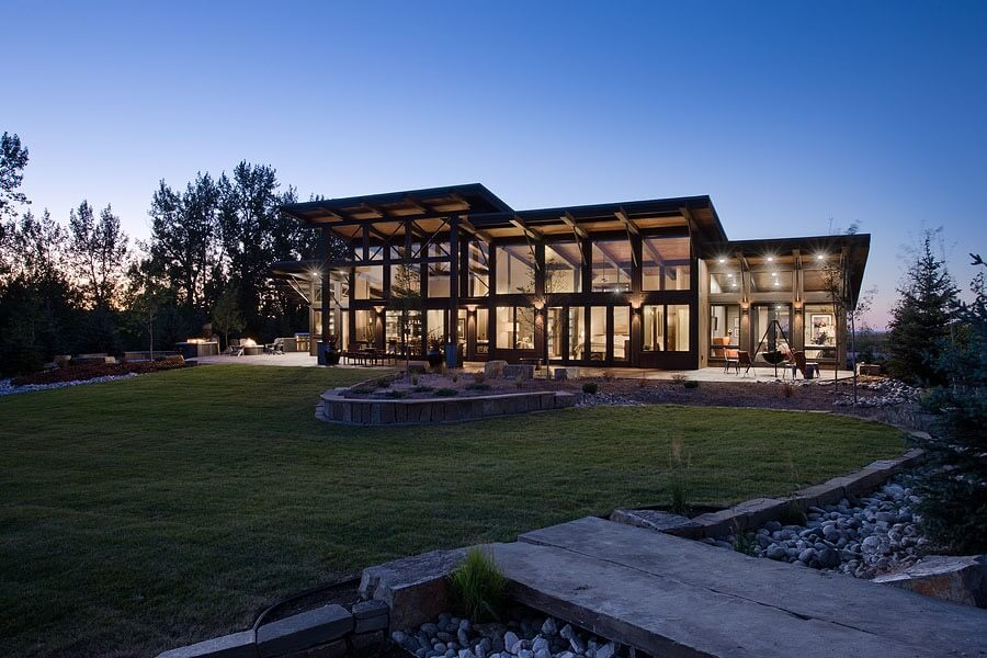 Contemporary Ranch 28 Images Chimney Corners Pin By