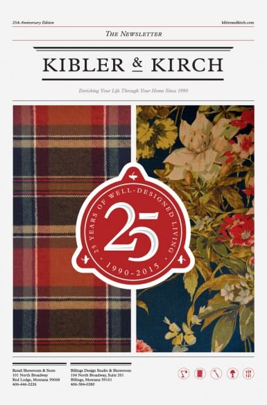 Kibler and Kirch Newsletter 25th Anniversary Issue